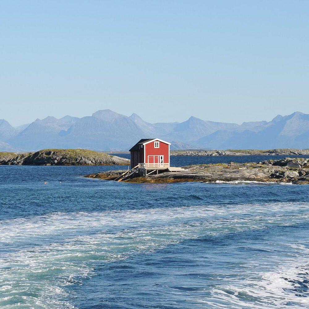 Mit dem Schnellboot von Insel zu Insel