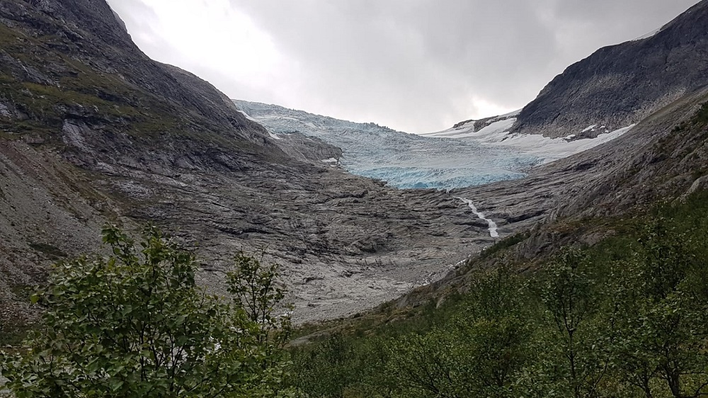 Gletscherzunge Bødalsbreen