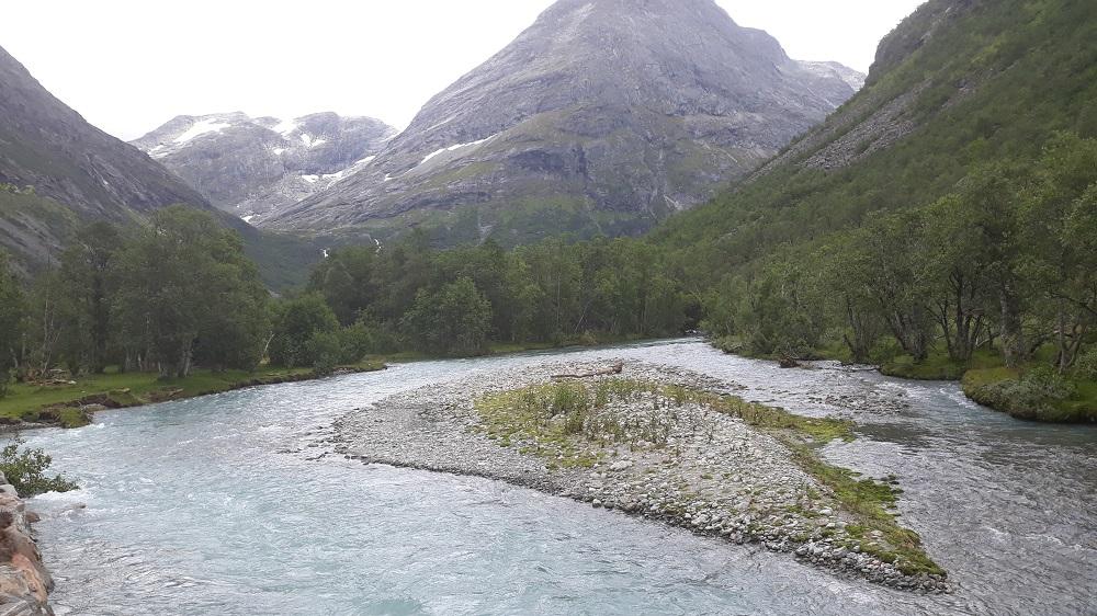 Gletscherfluss