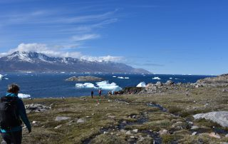 Wanderer in Grönland