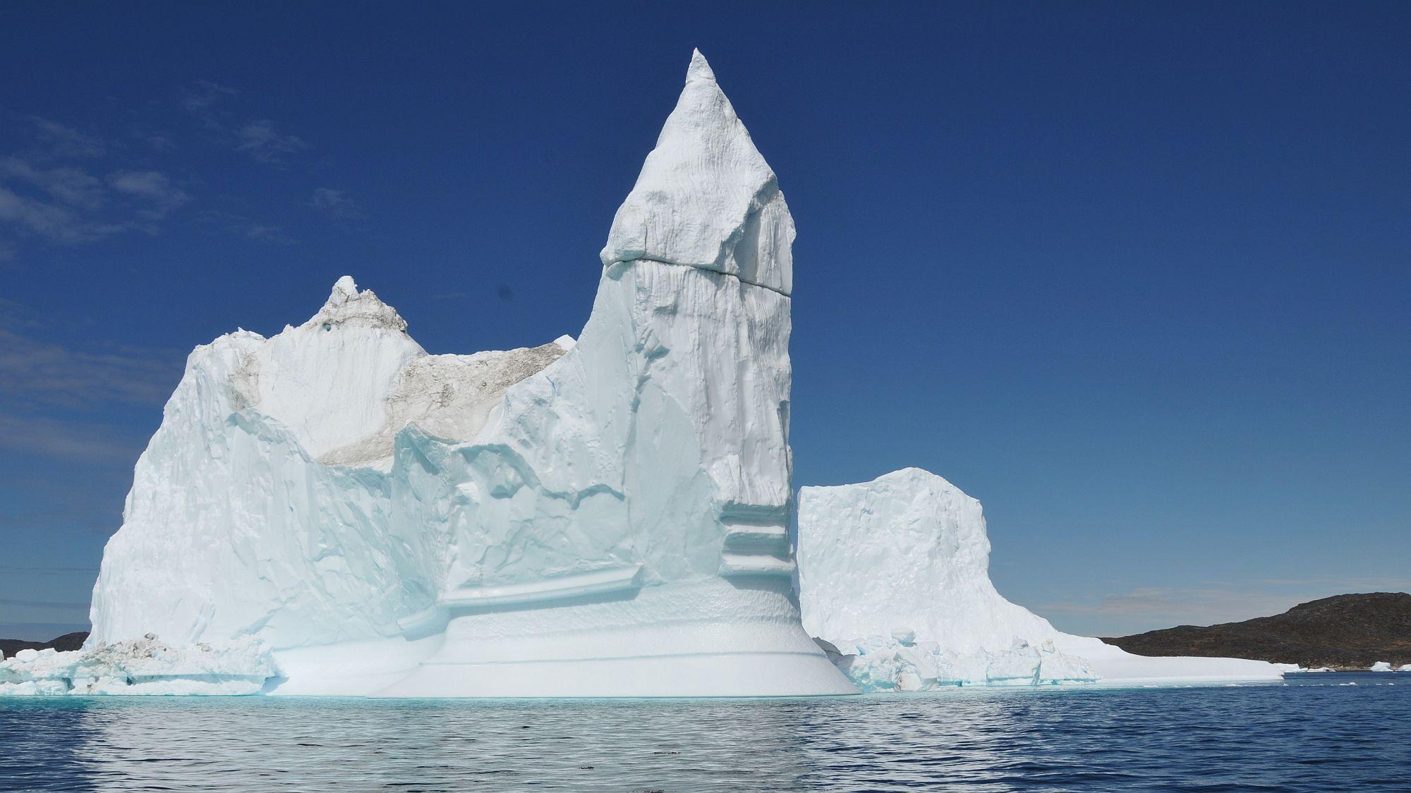 Eiskathedrale in Grönland