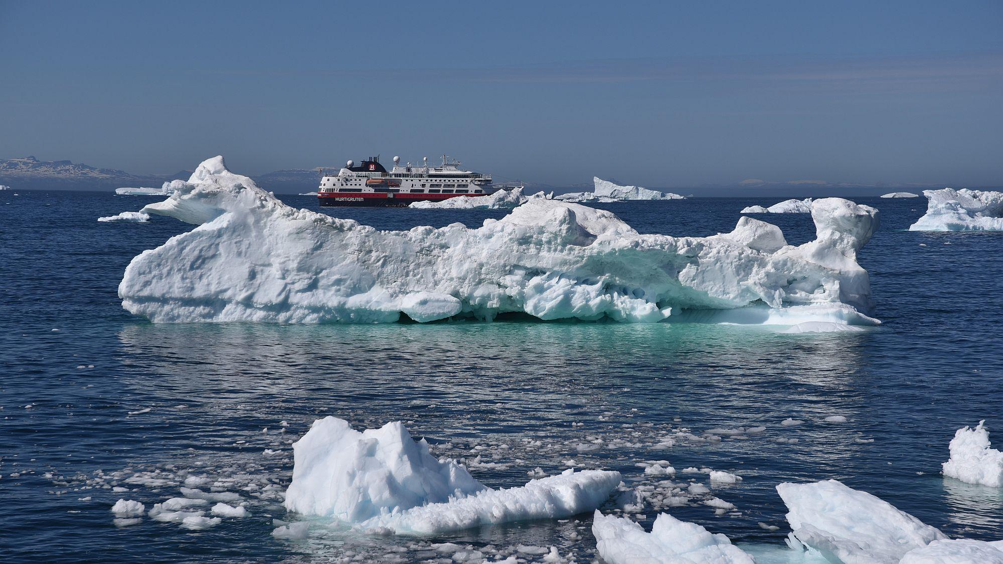Eisberge mit MS Fram