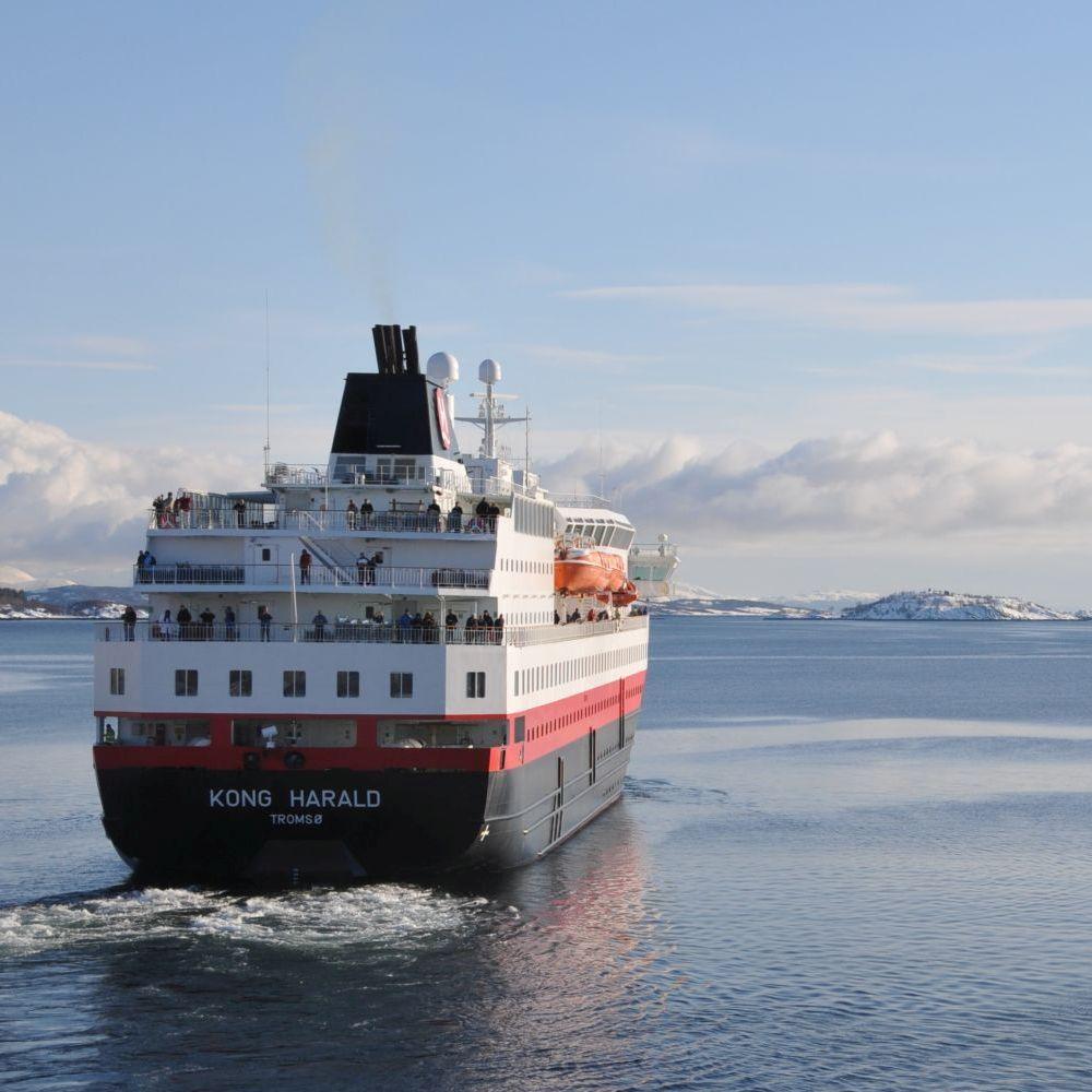 Hurtigrutenschiff Kong Harald