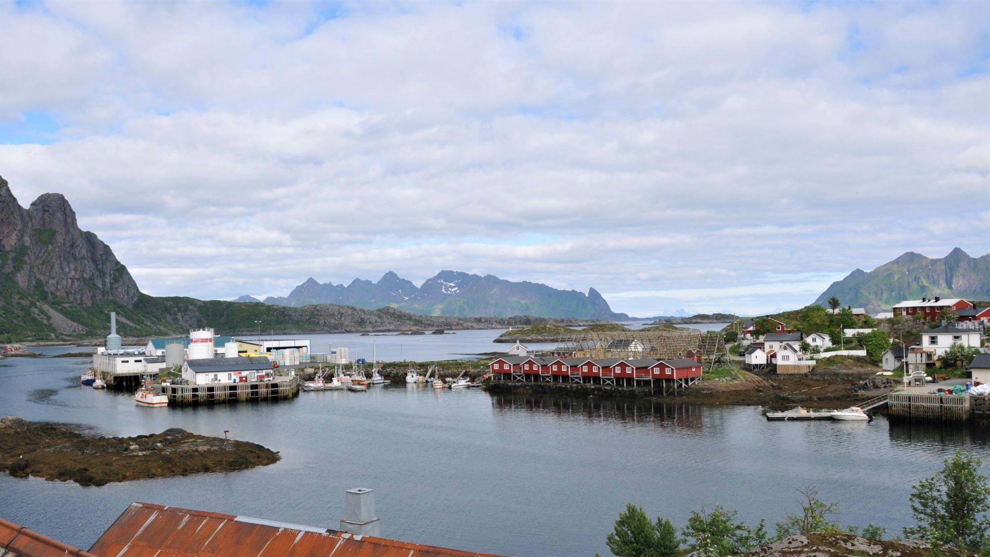 Svinøya von oben