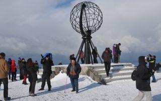 HR-Gruppe am Nordkap