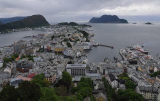 Ålesund vom Aksla aus