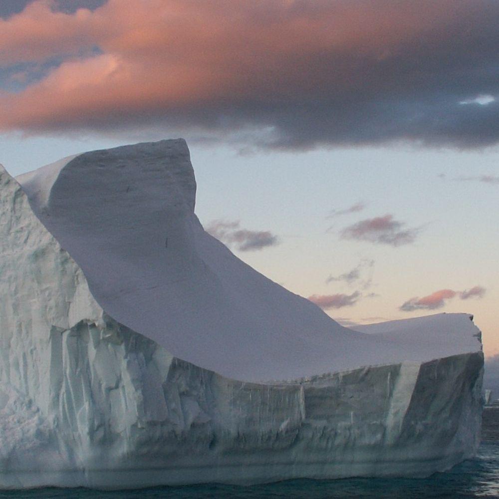 Abendstimmung Antarktis
