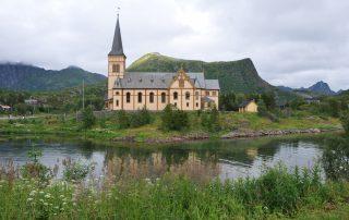 Svolvær Domkirche aus Holz