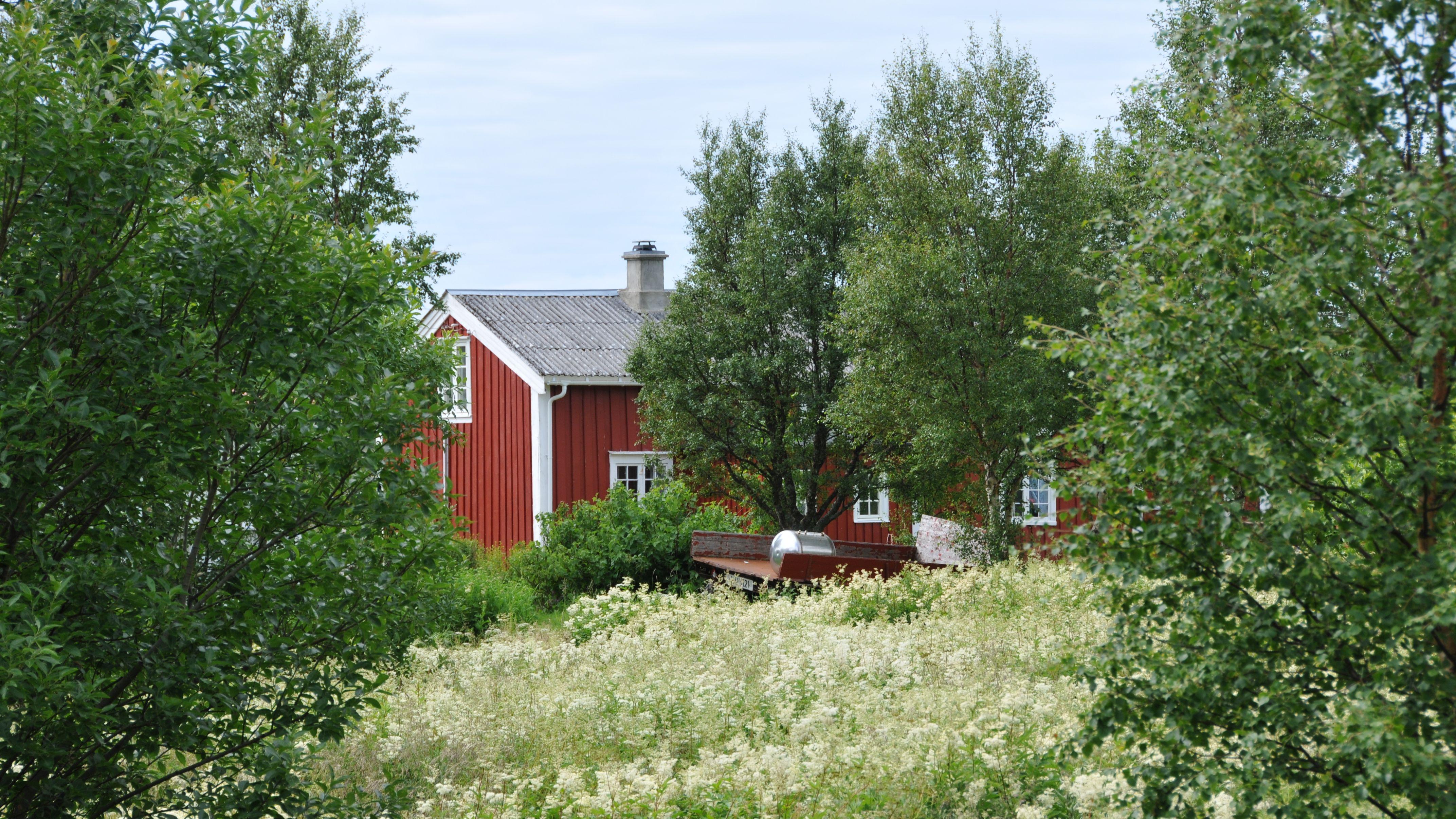 Norwegische Farm