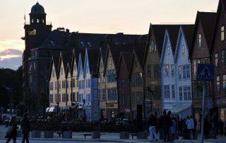 Bergen Bryggen Handelshäuser