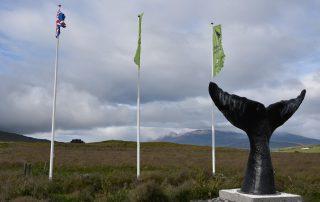 Waldenkmal auf Island