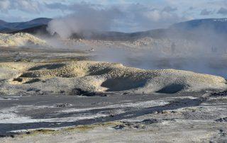 Geothermale Aktivitäten auf Island
