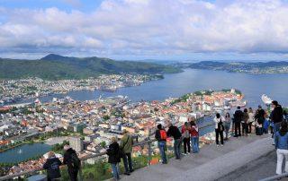 Fløyen in Bergen