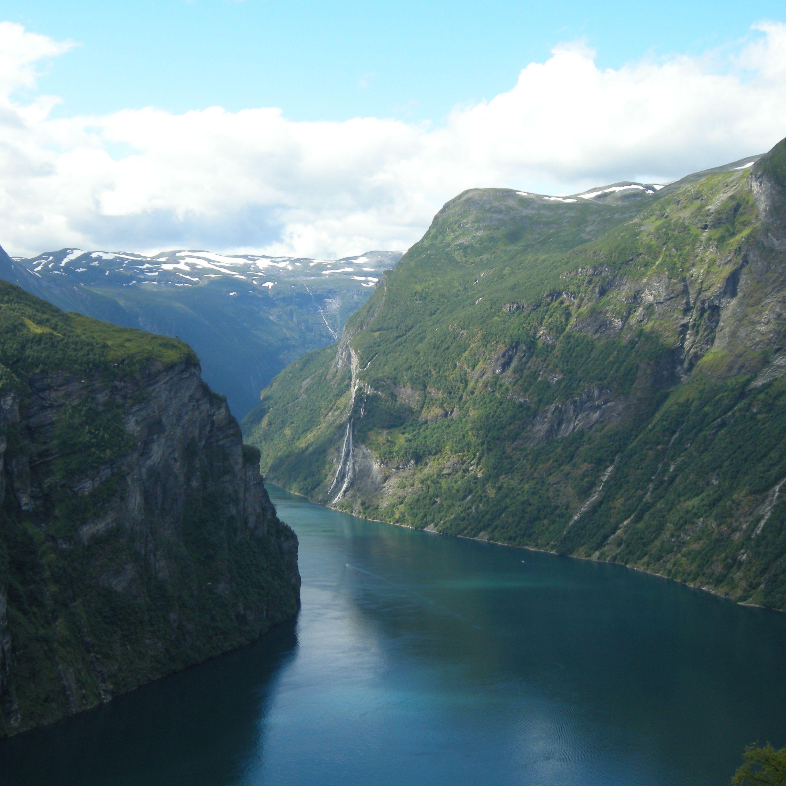 ARR Fjorde, Gletscher, Wasserfälle