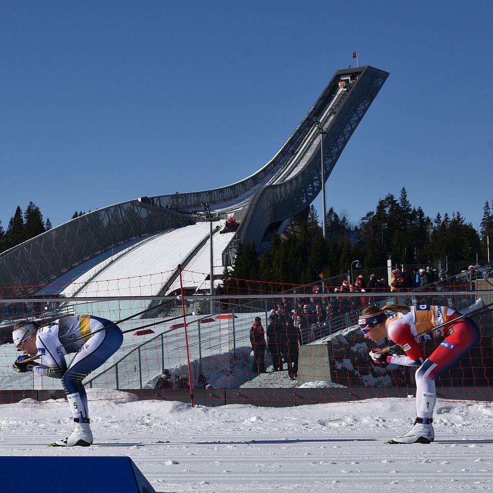 Kombination vor Holmenkollenschanze
