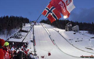 Schanze in Lillehammer