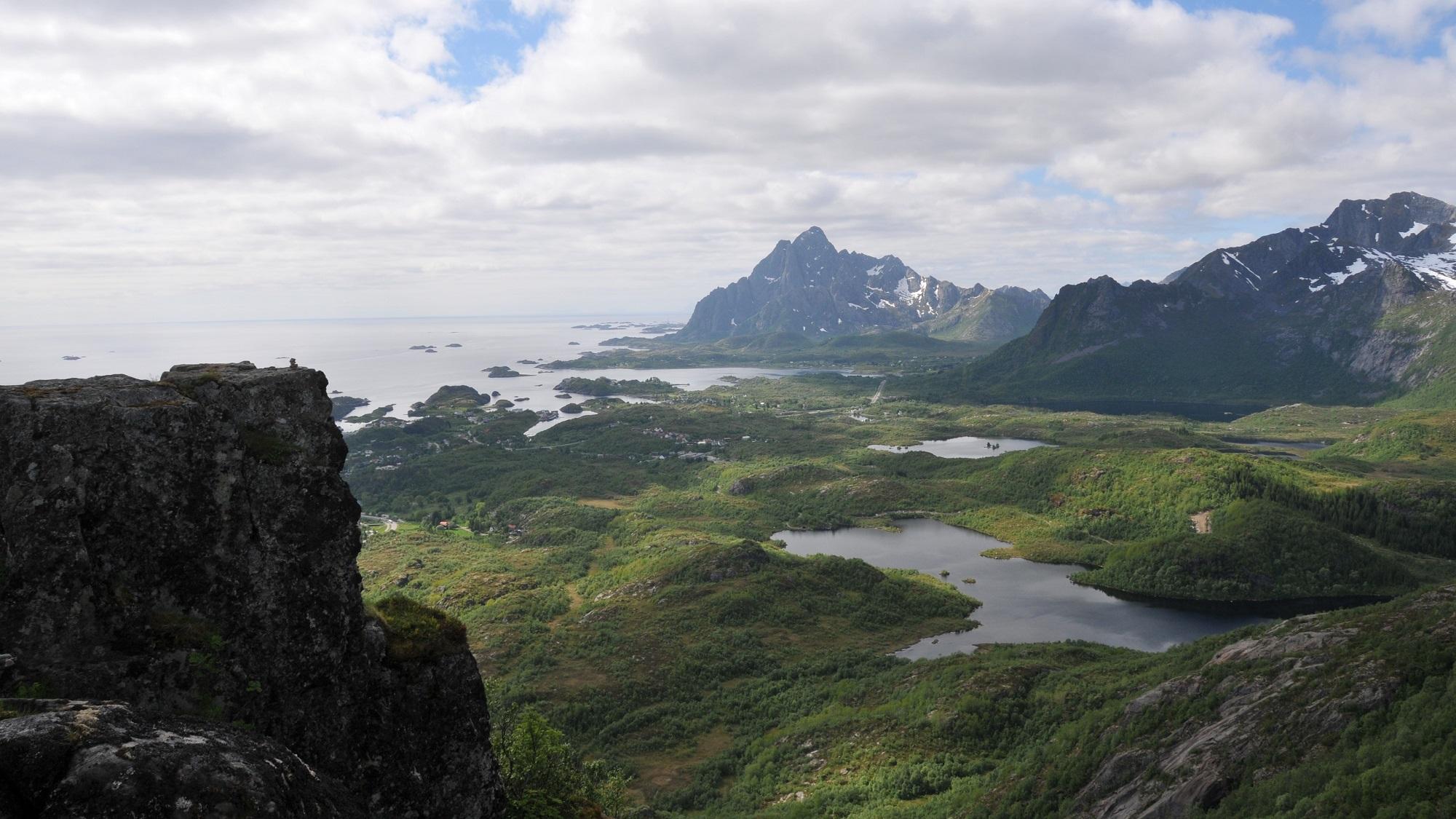 Panorama auf den Lofoten