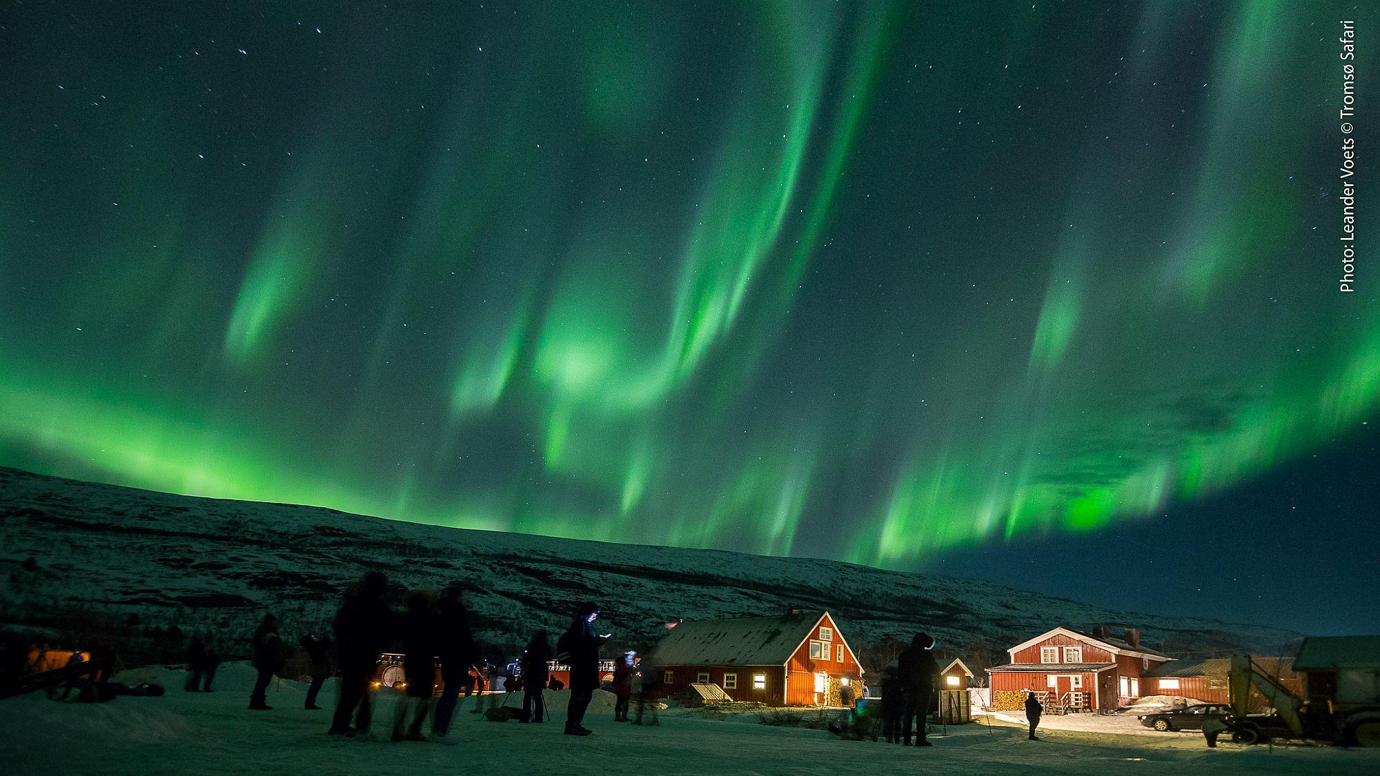 Base Station für Nordlichter