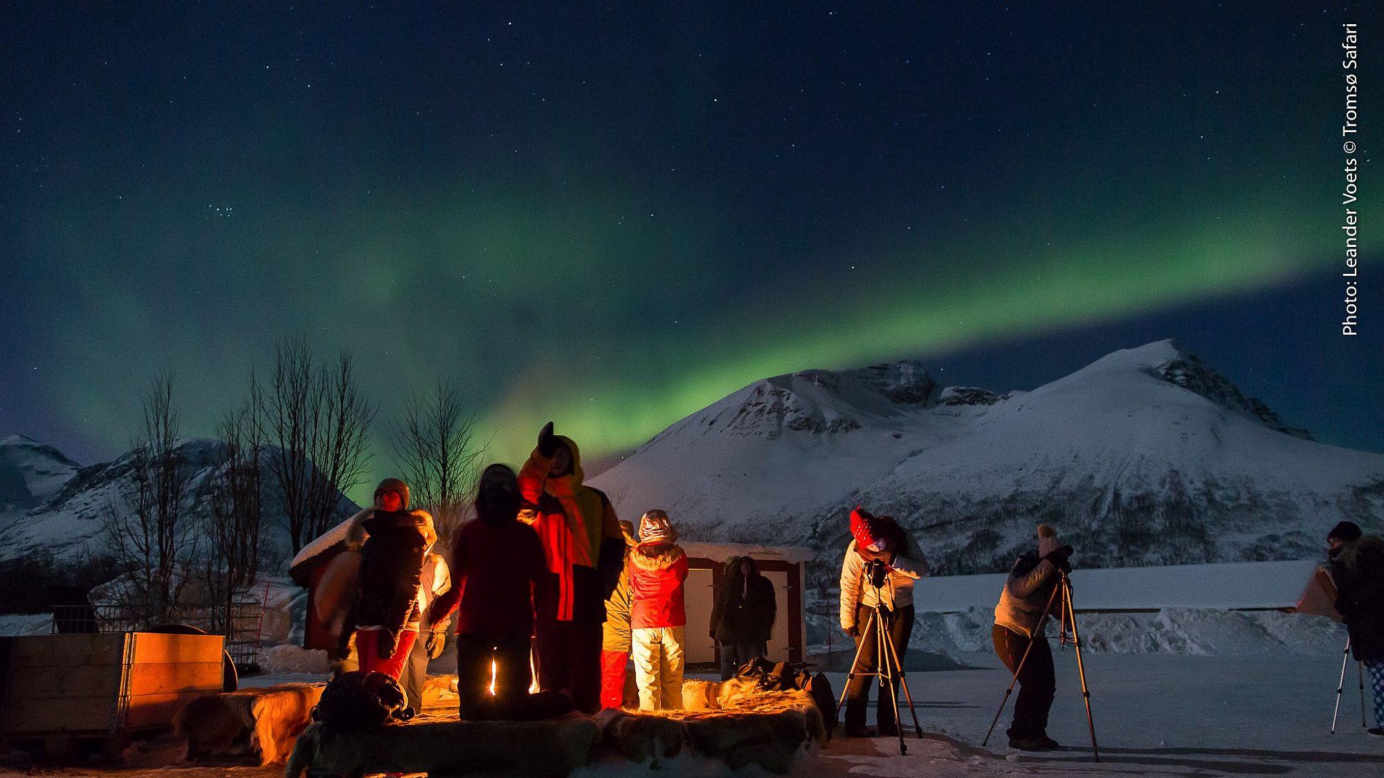 Nordlicht im Basiscamp