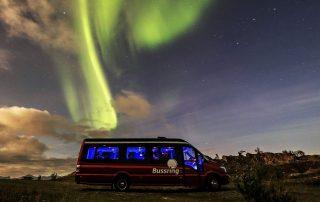 Nordlicht-Safari imMinibus