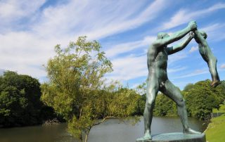 Skulptur im Vigelandpark