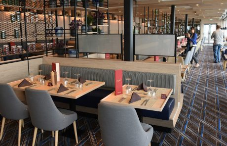 Restaurant Aune auf Roald Amundsen