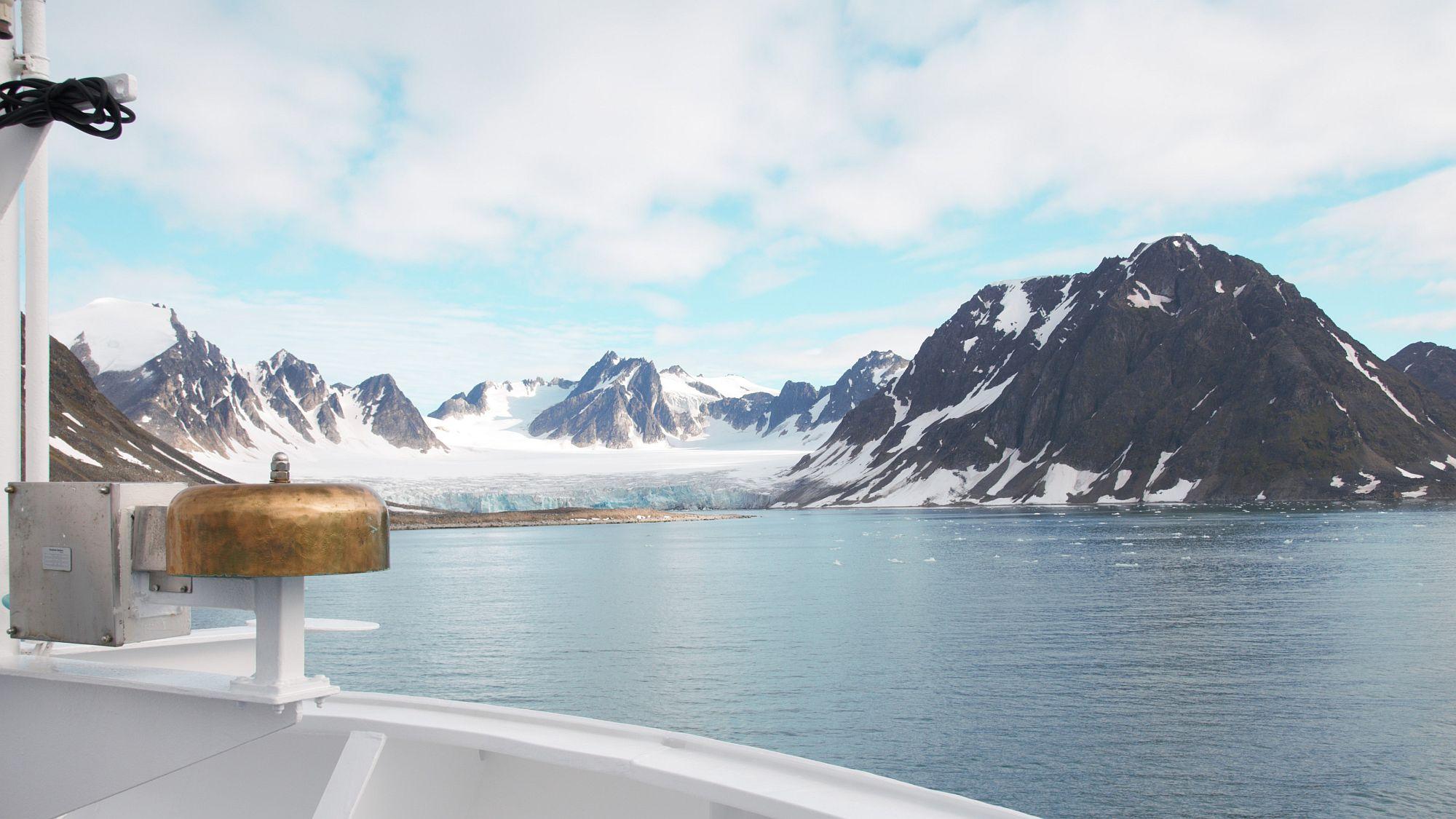 Gletscher in Spitzbergen