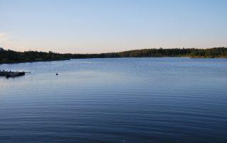 Finnischer See bei Vaasa
