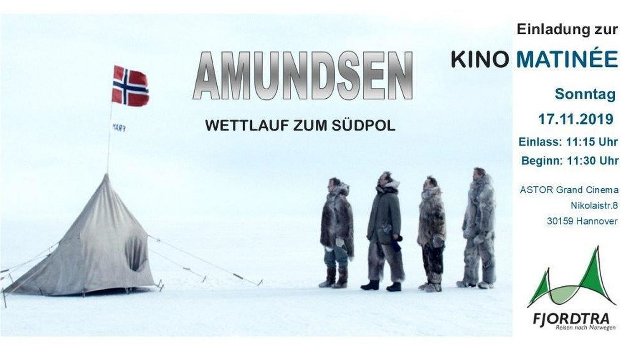 Einladungskarte Amundsen