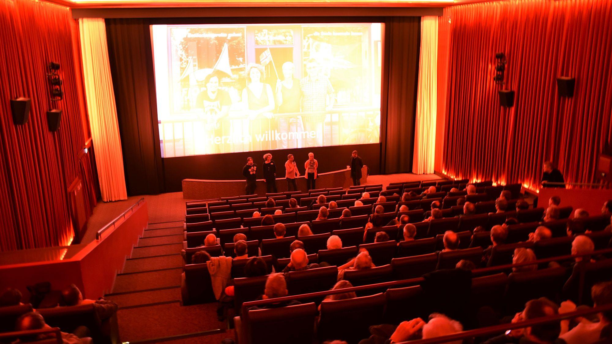Amundsen Kinosaal von oben