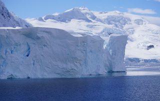 Tafelberg ind er Antarktis