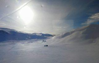Bergenbahn im März