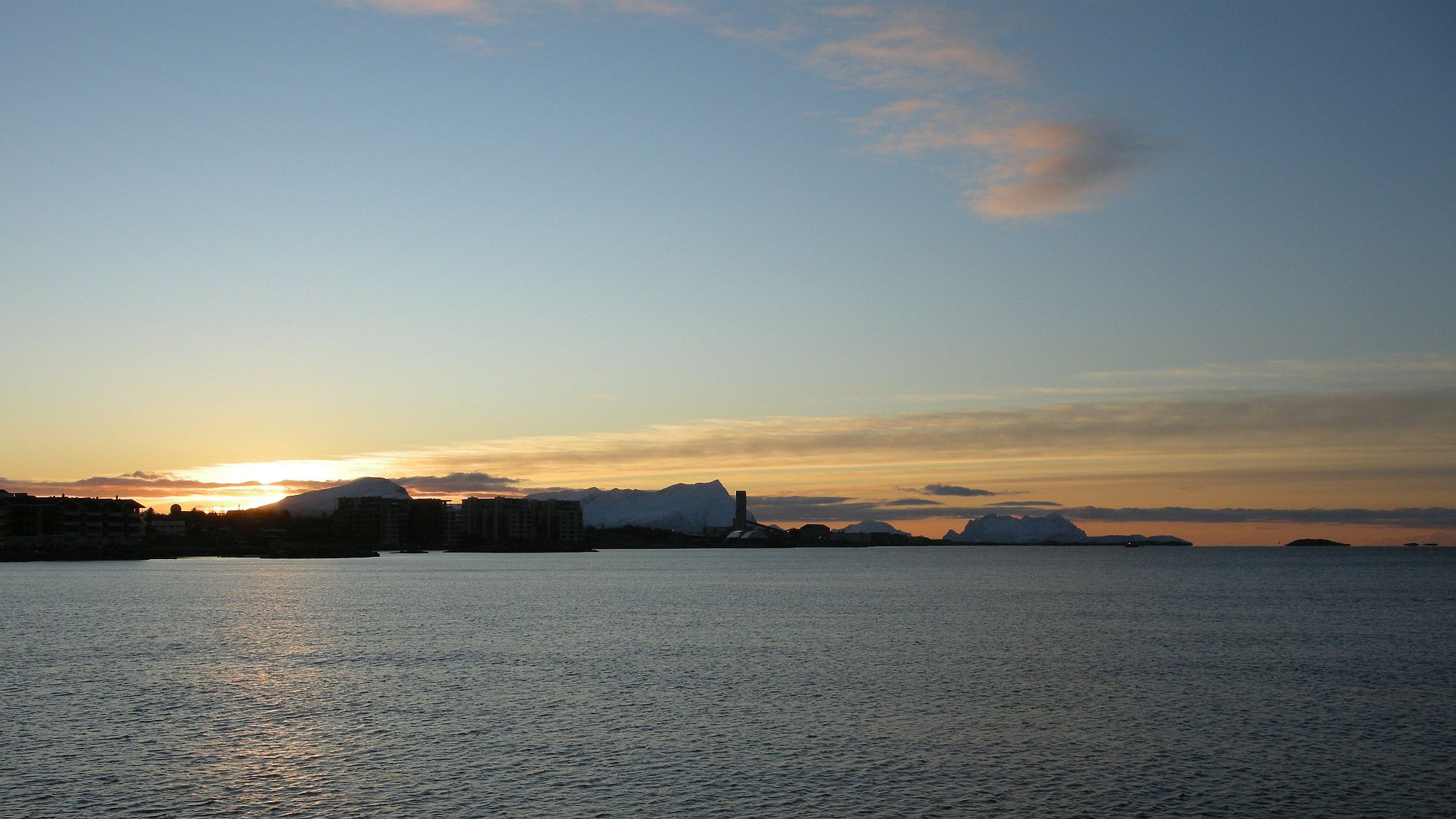Wintersonne Bodø