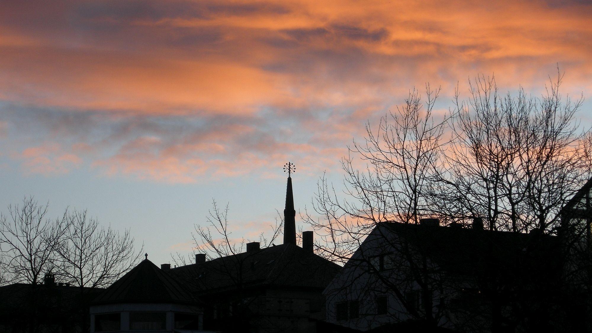 Abendhimmel über Bodø