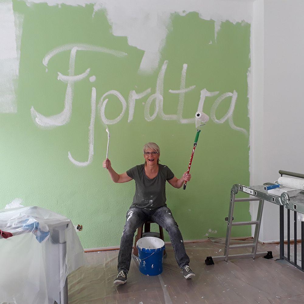 Malerarbeiten im Volgersweg