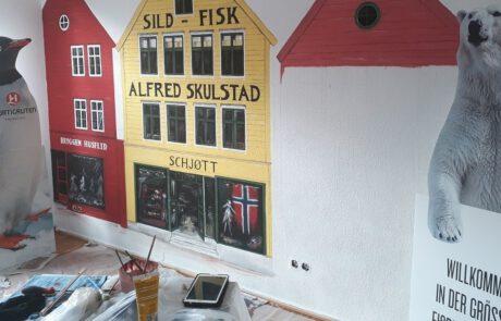Wandmalerei Haus 3