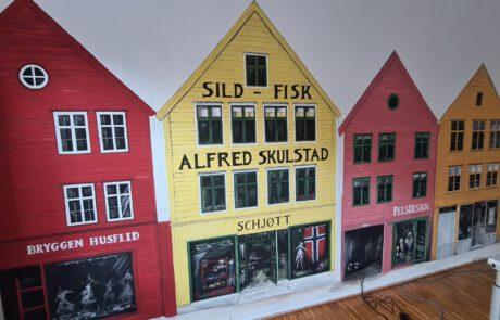 Bergen Bryggen im Büro