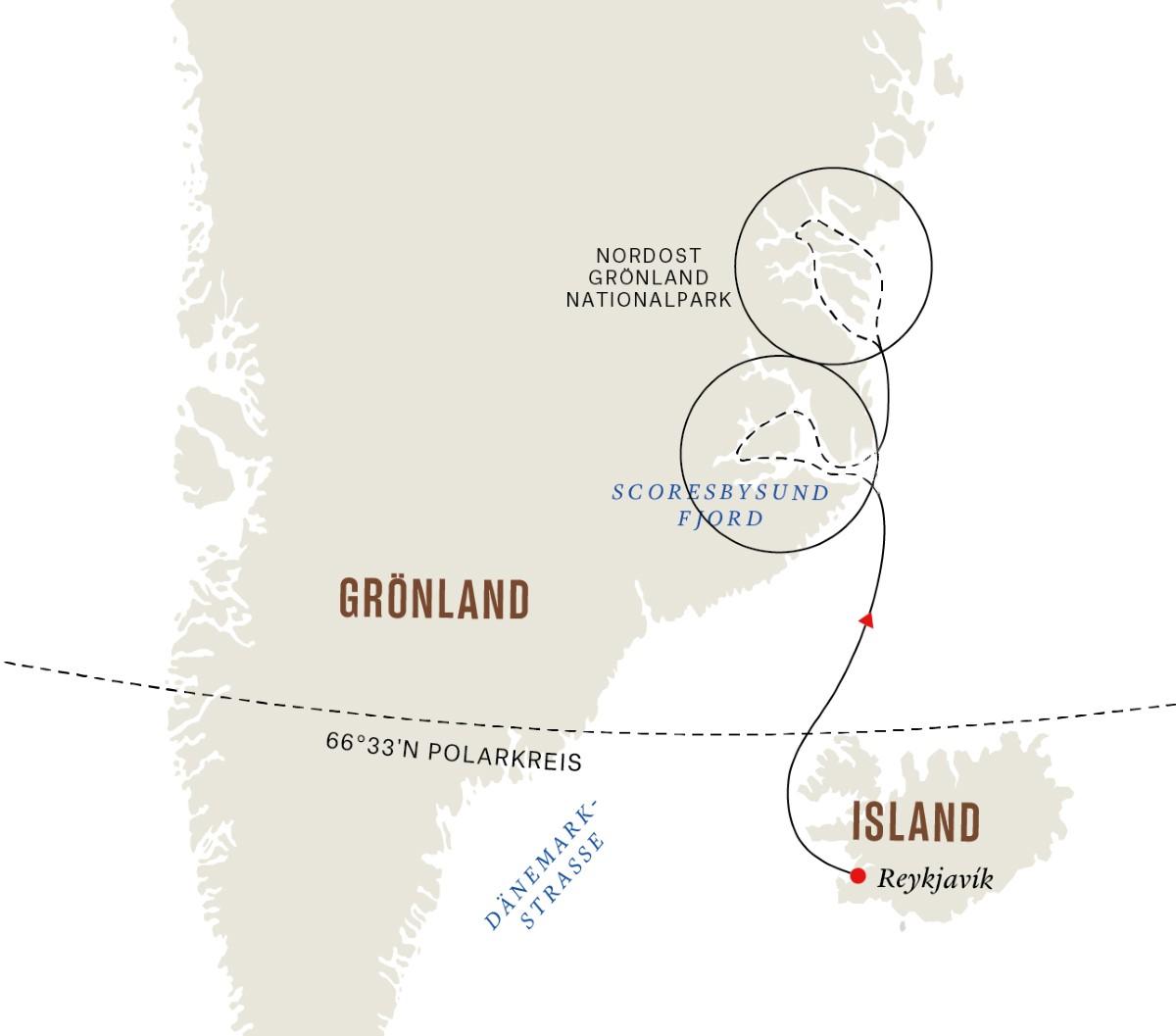 Grönland und Island 2022