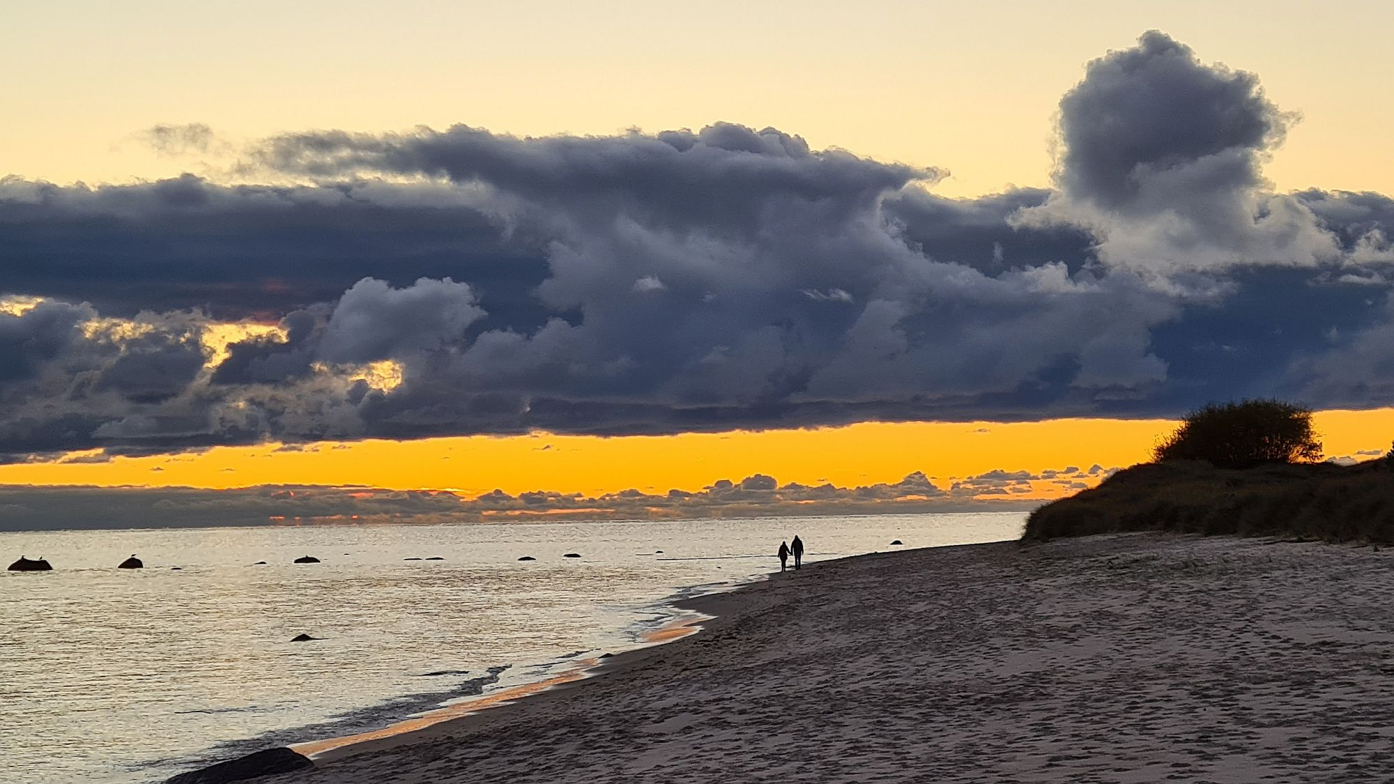 Sonnenuntergang Bornholm