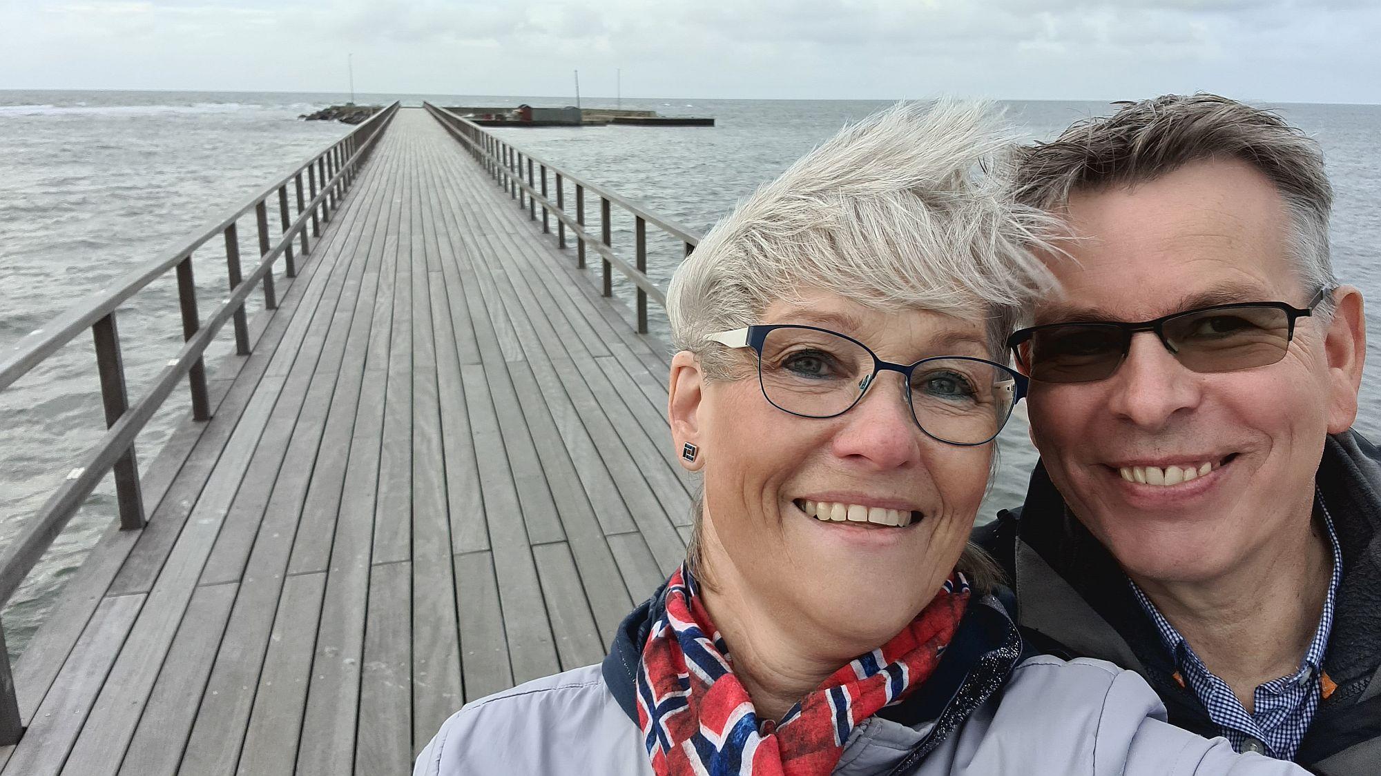 Glücklich auf Bornholm