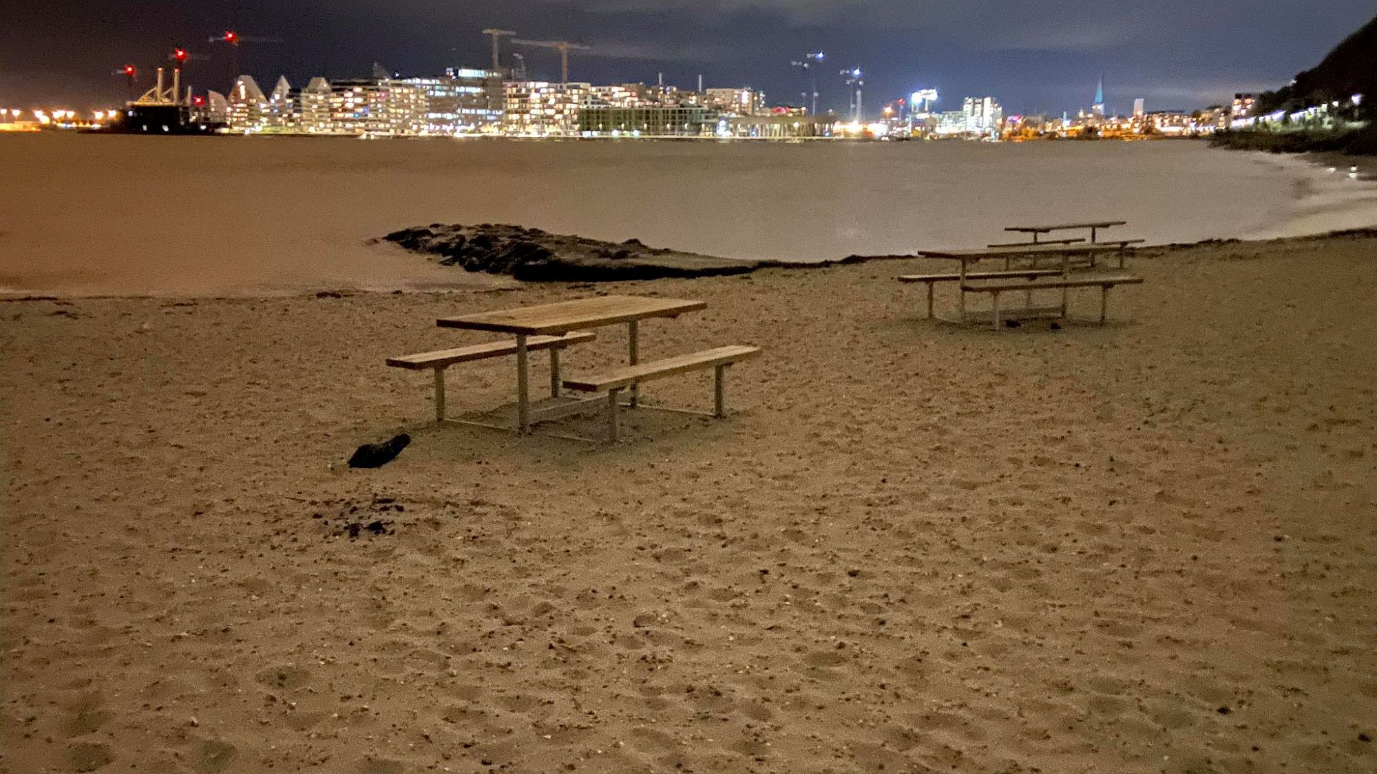 Strand von Aarhus