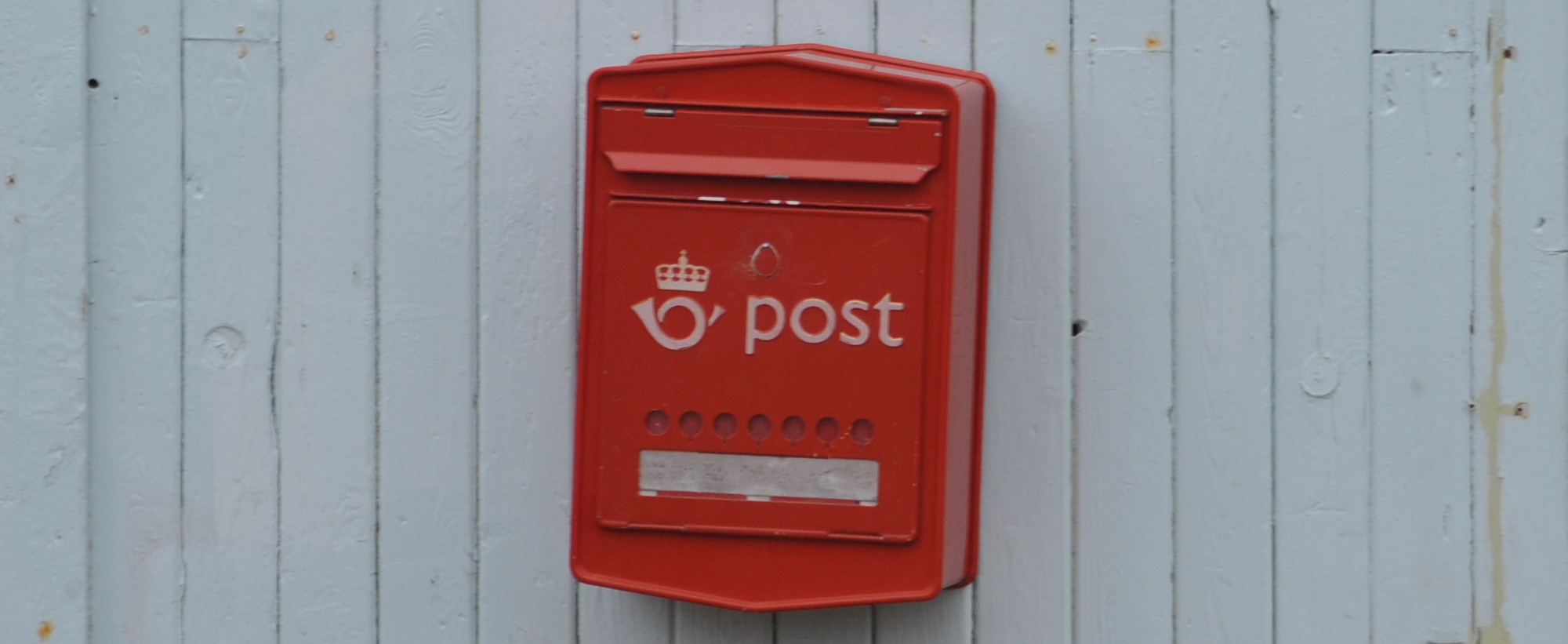 Norwegischer Briefkasten