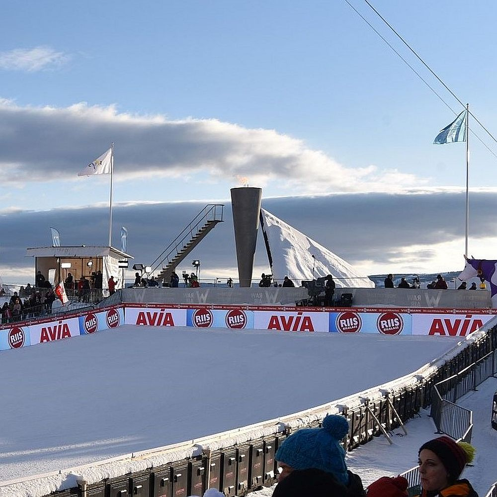Skispringen in Lillehammer