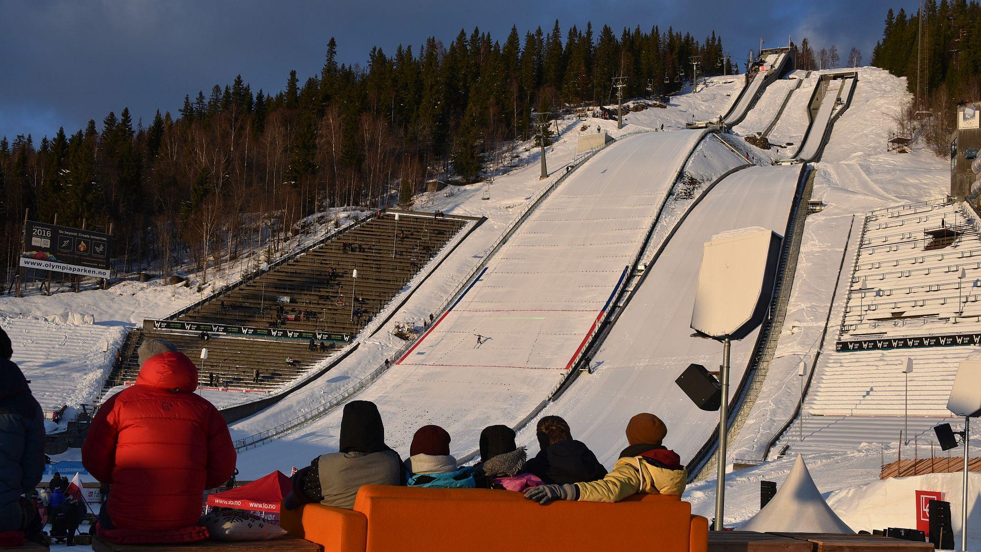 Skisprungschanze Lillehammer