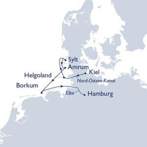 Inselhüpfen in der Nordsee