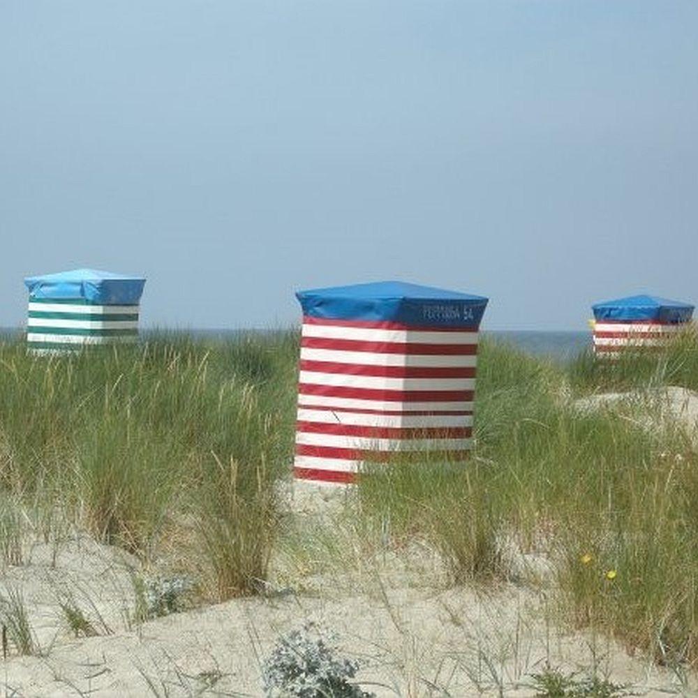 Strandkörbe auf Borkum